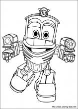 Robot Trains Coloring Pages On Coloring Book Info