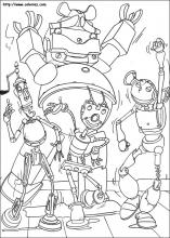 Robots coloring pages on Coloring-Book.info