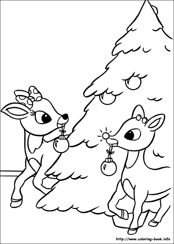 Perfect ... Reindeer Pictures To Print And Color. Last Updated : May 28th