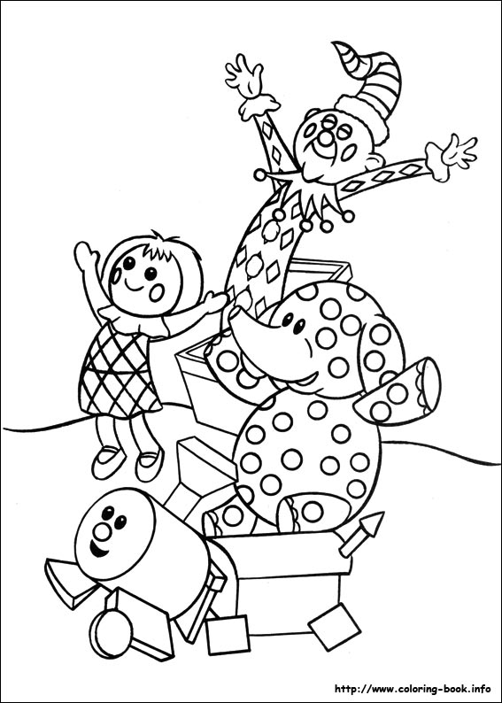 Rudolph the RedNosed Reindeer coloring picture