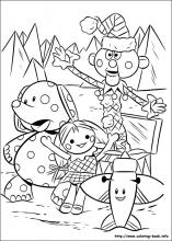 Rudolph The Red Nosed Reindeer Coloring Pages On Coloring Book Info