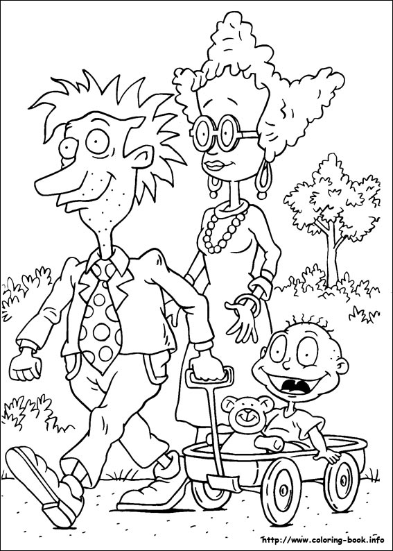 Rugrats coloring pages on Coloring-Book.info