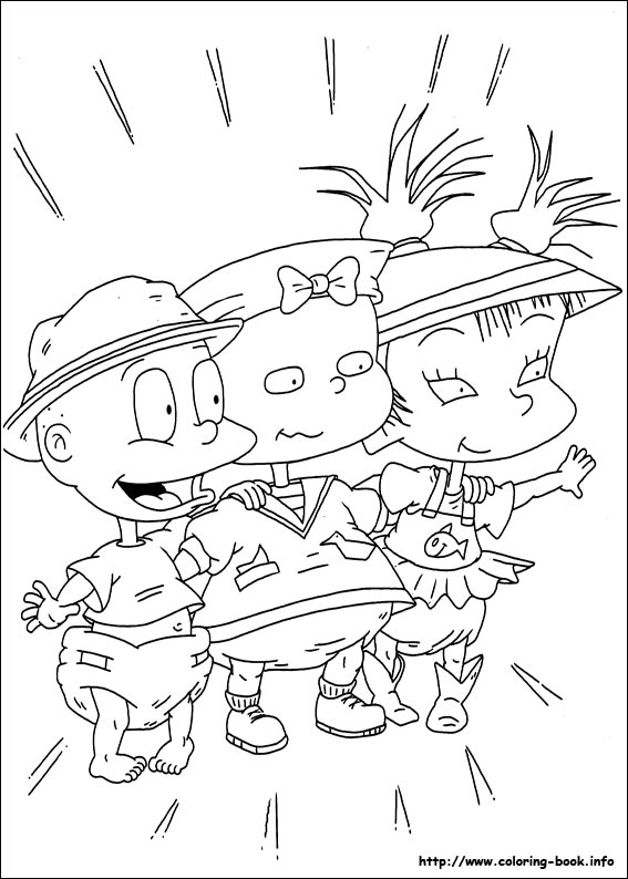 Rugrats coloring picture