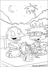 97 rugrats pictures to print and color last updated november 19th - Rugrats Characters Coloring Pages