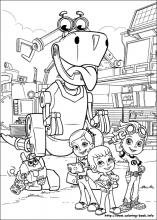 rusty rivets coloring pages Rusty Rivets coloring pages on Coloring Book.info rusty rivets coloring pages