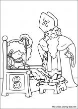 Saint Nicholas coloring pages on Coloring Bookinfo