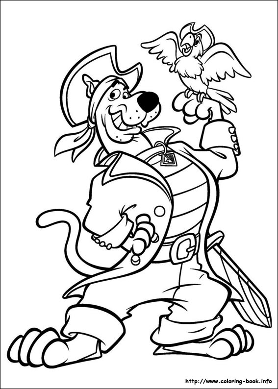ScoobyDou coloring pages on ColoringBookinfo