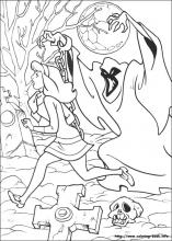 Scooby Dou coloring pages on Coloring Bookinfo