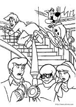 Scooby Dou Coloring Pages On Coloring Book Info