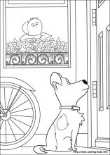 The secret life of Pets coloring pages on Coloring Bookinfo