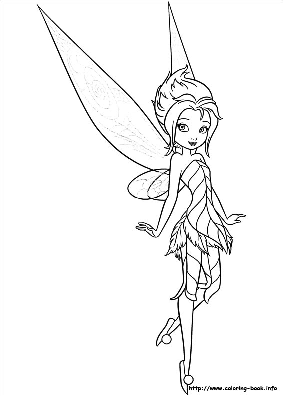 of the Wings coloring picture