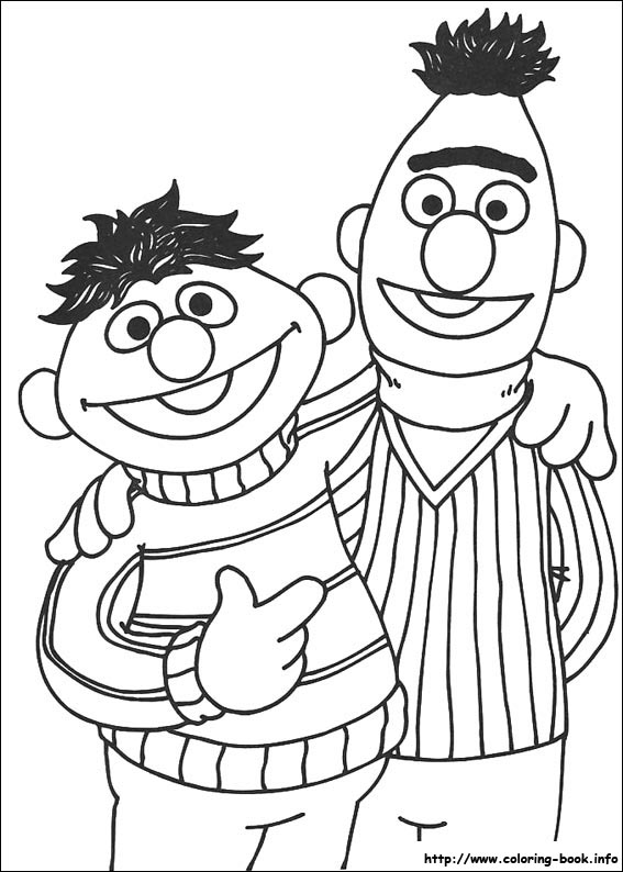Elmo Coloring Book Pages Pict 327 Sesame Street Set