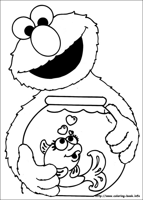 elmo colouring sheet - Bindrdn.waterefficiency.co