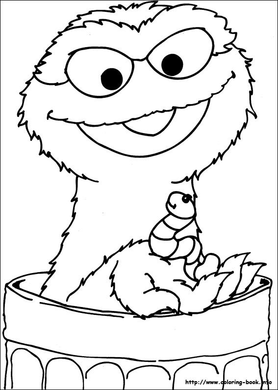 Sesame Street coloring pages on Coloring-Book.info