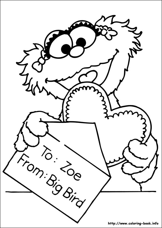 Sesame Street Coloring Pages Sesame Street Coloring Pages On Coloringbook