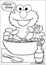 sesame street coloring pages on coloring bookinfo