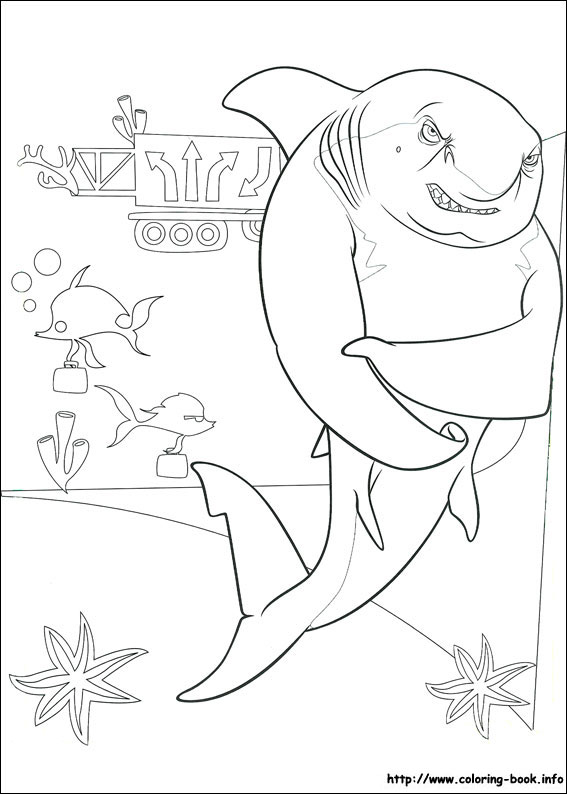 Tale coloring picture