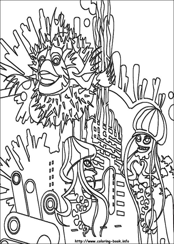 Shark tale coloring pages 13 shark tale pictures to print and color last updated may 28th