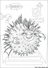 Shark Tale coloring pages on Coloring-Book.info
