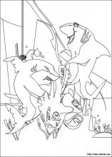 Shark Tale coloring pages on Coloring Bookinfo