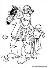 Shaun The Sheep Coloring Pages On Coloring Book Info Shaun The Sheep Coloring Pages