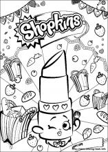 Shopkins Coloring Pages On Coloring Book