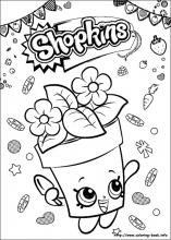 Shopkins coloring pages on Coloring-Book.info