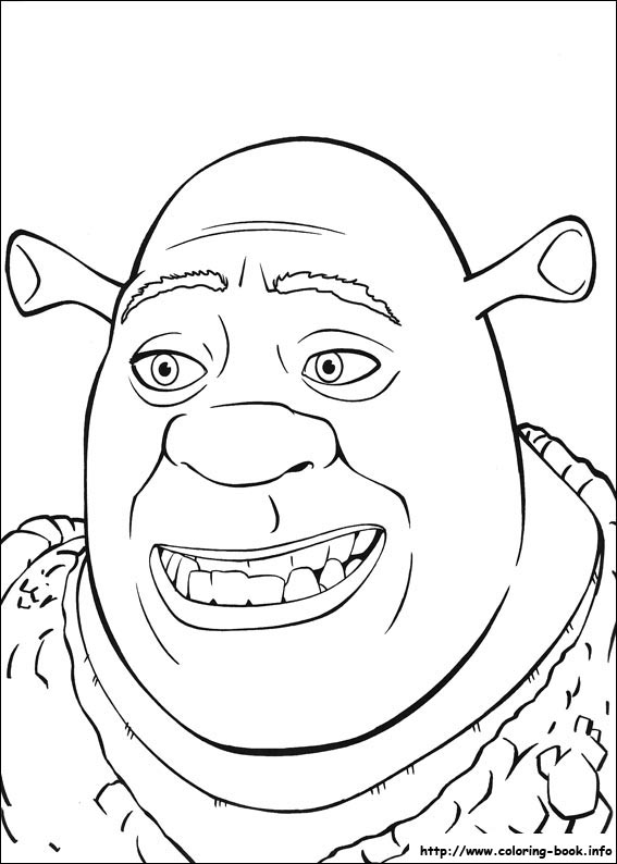 Shrek the Third coloring pages on Coloring Bookinfo