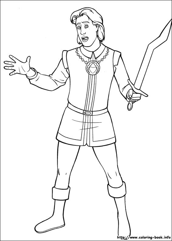 Book Coloring Page #2