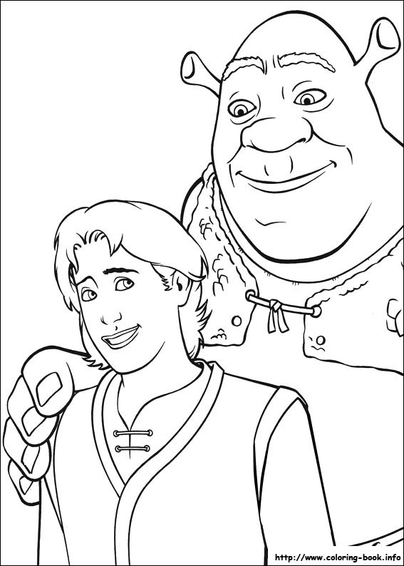 Shrek 2 Coloring Pages Coloring Coloring Pages
