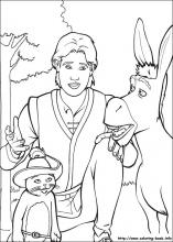Shrek the Third coloring pages on ColoringBookinfo