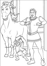 Shrek coloring pages on Coloring Bookinfo