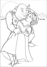 Shrek coloring pages on ColoringBookinfo