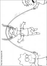 the simpsons coloring pages on coloring bookinfo