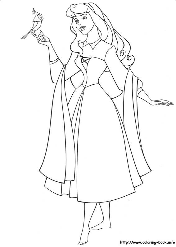 Disney Coloring Pages Aurora Coloring Pages