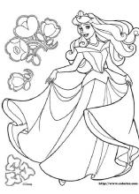 Sleeping Beauty coloring pages on Coloring Bookinfo