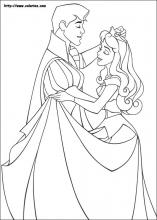 Sleeping Beauty Coloring Pages On Coloring Book Info