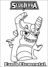 slugterra coloring pages on coloring book info