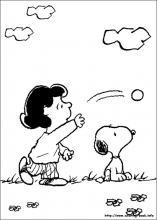 Snoopy coloring pages on Coloring Bookinfo