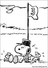 snoopy colouring pages.
