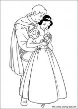 Snow White coloring pages on Coloring Bookinfo