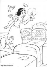 Snow White coloring pages on Coloring-Book.info