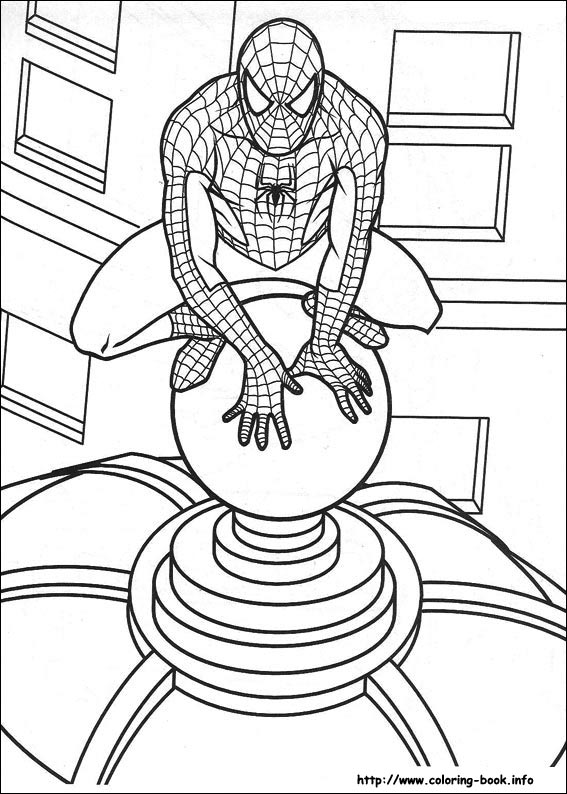 spiderman coloring pages on coloring bookfo