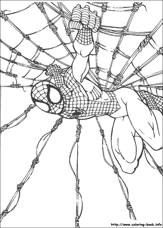 Kleurplaten Spiderman 4.Spiderman Coloring Pages On Coloring Book Info