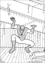 spiderman coloring pages on coloring-book.info - Coloring Pages Spiderman Printable