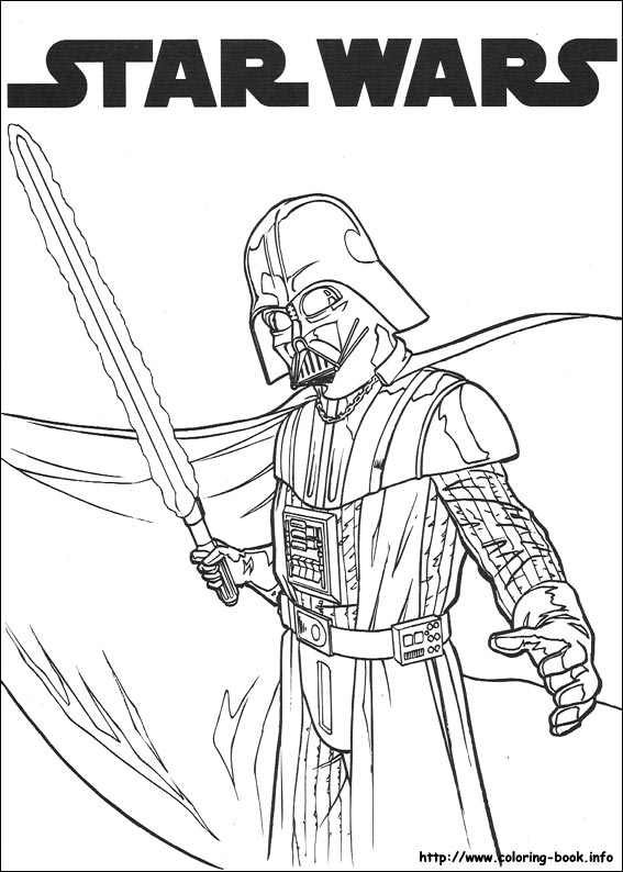 star wars coloring picture - Coloring Pages Printable Star Wars