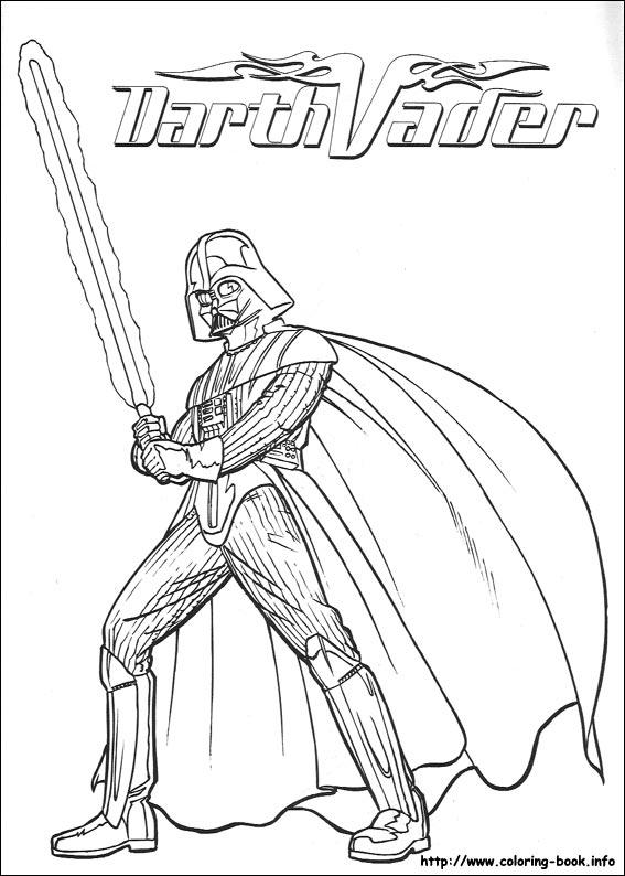 Gratis Kleurplaten Star Wars.Star Wars Coloring Picture