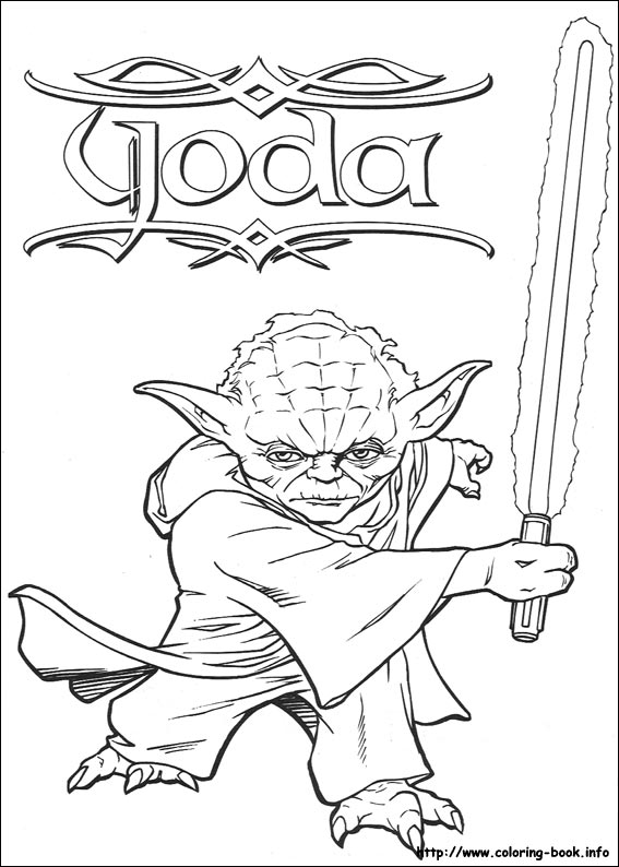 Star wars coloring picture - Dessin stars wars ...