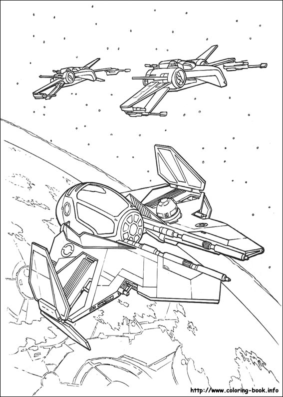 Star Wars coloring pages to print