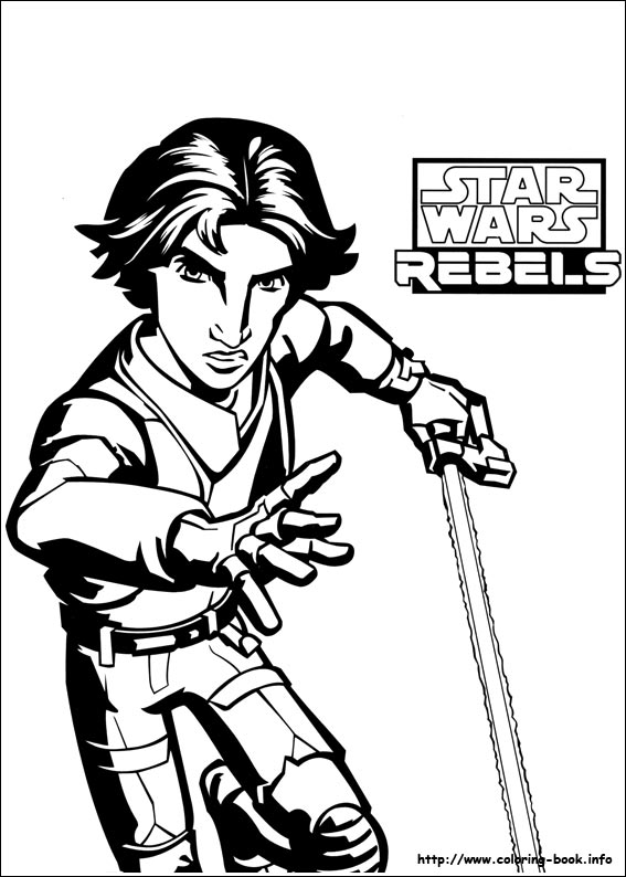 star wars rebels coloring pages Star Wars Rebels coloring picture star wars rebels coloring pages